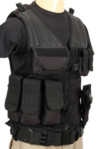 The Assault Vest in Black