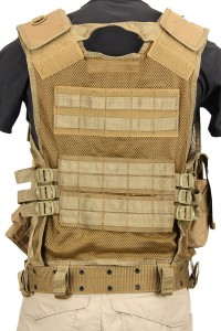 The Assault Vest in Coyote