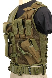 The Assault Vest in Olive Drab