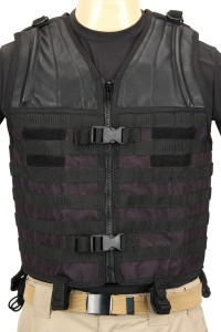 The Mission Convertible Vest in Black